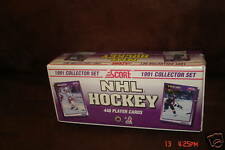 1991-1992 Hockey Score Factory Set-Eric Lindros Rookie/Hasek Rookie-Brand New!