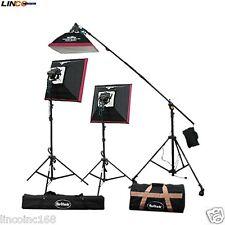 Britek Halogen Light Kit Softbox Light Video Photography Lighting Studio 10011