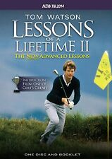 Tom Watson: More Golf Lessons of a Lifetime The New Advanced Lessons [DVD] *NEU*