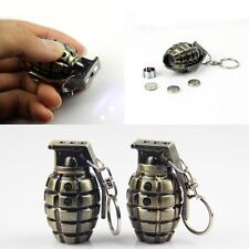1X Hand Grenades Laser flashlight Keyring Red Laser LED Mini Flashlight Keychain