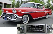 NEW USA-630 II 300 watt '58 Impala Bel Air AM FM Stereo Radio iPod USB Aux input