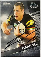 ISAAH YEO PENRITH PANTHERS  2018 TLA TRADERS NRL SIGNED CARD