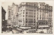 * BRAZIL - Sao Paulo - Praca Patriarca 1934 Photopostcard