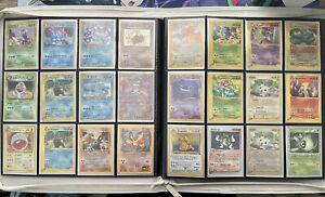 Pokemon Cards Binder Collection Lot Vintage Holo WOTC TCG