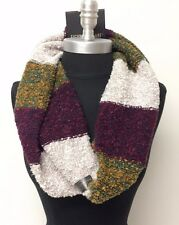 New Women Winter Warm 1-Circle Knit Cowl Infinity Scarf Wrap Soft Multi-Color