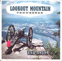 Vintage Lookout Mountain Tennessee View-Master 3-Reel Set Chattanooga EUC A 876