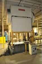 225 Ton Niagara Double Crank Gap Frame Press, Stamping, Planet Machinery #5163