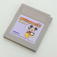 Gameboy MICKEY MOUSE 5 Mahou no stick Cartridge Only Nintendo gbc