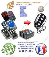 Télécommande Copieuse V2 Phoenix,V2 Phox,V2 TXC,V2 TRC,V2 TSC4,V2 HANDY,433,9Mhz