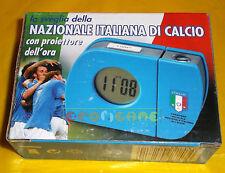 LA SVEGLIA DELLA NAZIONALE ITALIANA DI CALCIO CON PROIETTORE DELL'ORA ○○○○ NUOVO