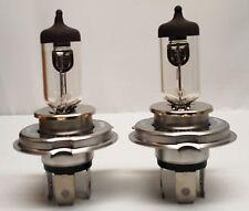 2Pcs H4 12V 60/55W Halogen Bulb High&Low beam Headlight