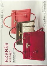 GROS & DELETTREZ HERMES Vintage Handbags Kelly Birkin Auction Catalog 2014 05