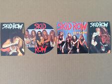 Lot  4   Autocollants   SKID ROW   Stickers