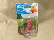 Winnie the Pooh Friends Pigglet Collectible Mini Figurine Plastic Teddy Bear Co