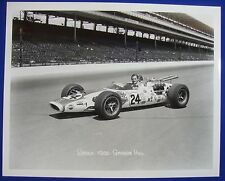 1966 Indianapolis 500 Winner Graham Hill American Red Ball 8x10 Photo Reprint 01