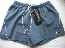 Nike Air Men's Swimming Trunks Quick Drying Size Small Navy Blue & Aqua New NWT