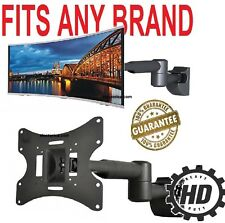 "10"" To 42"" LCD LED TV WALL MOUNT BRACKET  TILT SWIVEL HD 27 32 21 19 40 28 24 36"