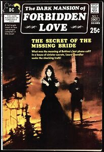 Dark Mansion of Forbidden Love #1 NM- Greytone cover, Gothic