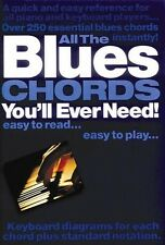 All the Blues Chords You'll Ever Need - Quick Reference Book NEW 014001649