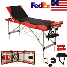 Us 73X24X32inch Foldable Spa Body building Salon Facial Massage Table Treatment