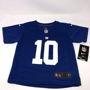 Nike Eli Manning Jersey New York Giants Blue Toddler Size 4T