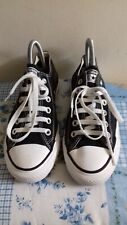 Women's Converse  All Star Black Trainers Size UK 5  EUR 37.5 VGC