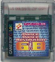 Nintendo Game Boy Colour Nintendo Dance Revolution GB Japan US Seller