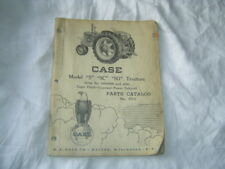 Case S Sc So Orchard Tractor Parts Catalog Manual Book