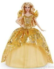 2020 HOLIDAY Blonde Barbie Doll with SHIPPER! GNR92 IN STOCK NOW!
