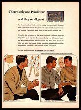 1964 Pendleton Virgin Wool Blazer Shirt Slacks Sweater Portland Vintage Print Ad