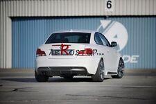 FRP RIEGER 1M STYLE REAR BUMPER DIFFUSER FOR BMW E82 E88 IM SPORTS REAR BUMPER