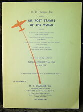 Harmer, Inc-Air Post Stamps of the World (auction catalog) 1963-Sale Number 1488
