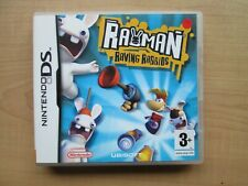 Nintendo DS - Rayman Raving Rabbids - Manual INCLUDED