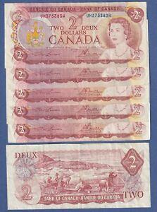 Canada  $2 (1974 ) Circulated Banknote - DP L1