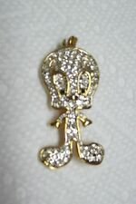 Vintage Rhinestone Tweety Bird Pin