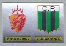 SCUDETTO CALCIATORI PANINI 1985/86 - RECUPERO N.600 PIEVIGINA/PORDENONE