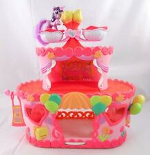 MY LITTLE PONY 3 TIER ROLLER SKATE PARTY CAKE PLAYSET WITH PONY 2007 HASBRO