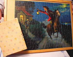 TUCO Jigsaw Puzzle 1933 Paul Revere's Ride  Complete