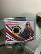 New listing 2020 Topps USA Olympics Lilly King Memorabilia Patch Card #'d/99 Swimming