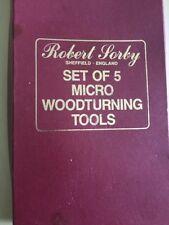 Robert Sorby 5pc Turning Tools 45HS
