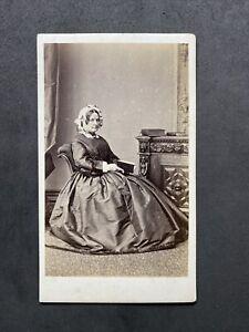 Victorian Carte De Visite CDV: Lady Named Reynolds: Oglesby: Preston