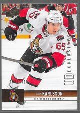 12/13 Upper Deck Exclusives Erik Karlsson /100 130 Senators