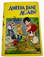 Amelia Jane Again! Book by Enid Blyton 1946 Dean & Son Ltd Free Shipping