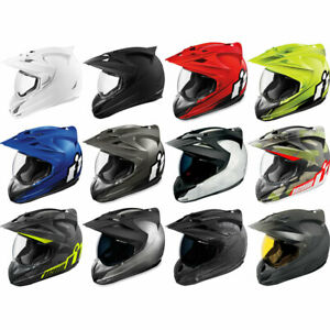Icon Variant Full Face DOT Motorcycle Helmet - Pick Size and Graphic