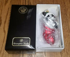 Christopher Radko Glass Ornament Mickey Mouse In Stocking + Box Disney Perfect
