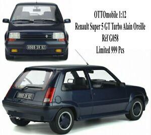 OTTOmobile 1:12 Renault  Super 5  GT Turbo Alain Oreille Réf G058 Otto Gt Spirit