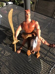 Disney Mattel Hercules With Horse And Sword