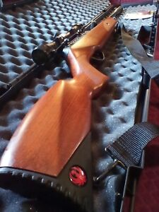 """🔥Ruger Impact Elite .22 Cal. Pellet Air Rifle With Polymer CASE & PELLETS""""🦃💥"""