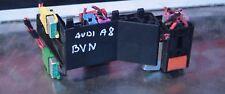 2008 AUDI A8 D3 FUSE BOX RELAY HOLDER BRACKET FRAME 8A0937530