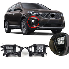 Fit For KIA Sorento L/ LX/ LX V6/ EX V6 2019-2020 LED Front Bumper Fog Light Kit